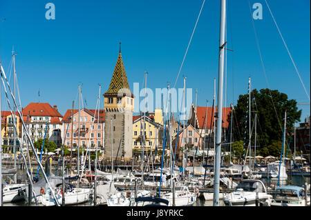 Lindau Bodensee, Germany, Europe - Stock Photo