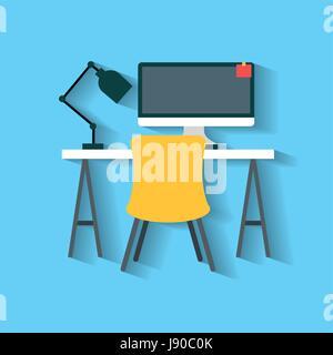 Businesswoman and businessman icons set illustration - Stock Photo