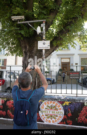 Abbey Road Studios, St John's Wood,London NW8 - Stock Photo