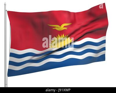 symbolic, colour, emblem, illustration, flag, official, banner, national, - Stock Photo
