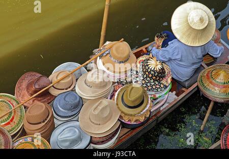 thailand, rowing boat, sailing boat, sailboat, boat, watercraft, act, asia, - Stock Photo