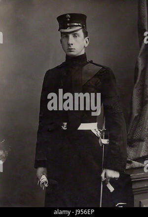 Portrait of Alan Percy, 8th Duke of Northumberland - Stock Photo