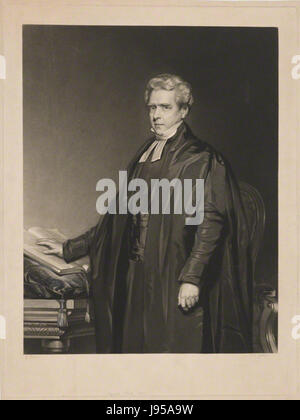 Thomas Dale by William Overend Geller, after John Lucas - Stock Photo