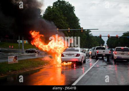 Auto Fire Stock Photo Royalty Free Image 88002925 Alamy