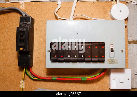 old style electrical fuse boxuk j96867 old style fuse box stock photo, royalty free image 54697361 alamy old style fuse box at suagrazia.org