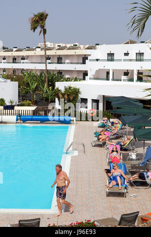 Holiday Apartments And Swimming Pool On The Greek Island Of Kos In Stock Photo Royalty Free