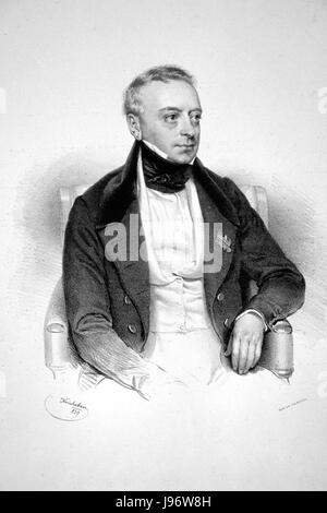Salomon Meyer Rothschild Litho - Stock Photo