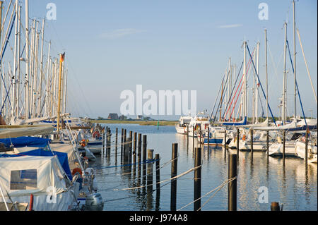 marina,heiligenhafen,baltic sea,schleswig-holstein,germany,europe - Stock Photo