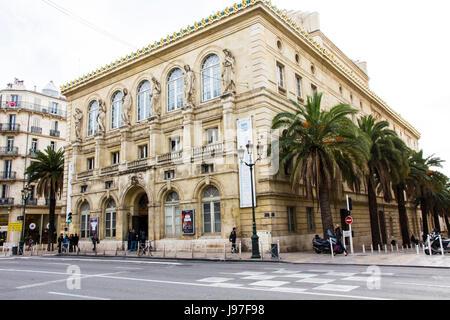Opera de Toulon,(1862), Toulon, France. - Stock Photo