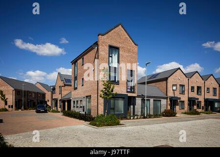Modern Design Houses At Barratt Cottham Heights Nr Preston In Lancashire Uk