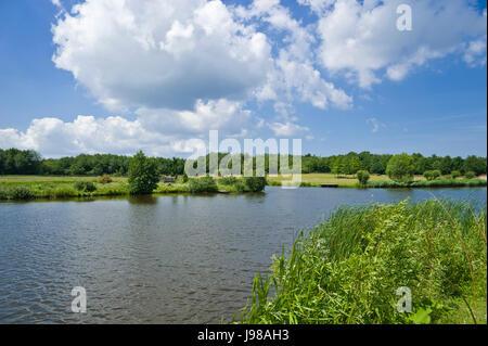 wallsee,oldenburg in holstein - Stock Photo