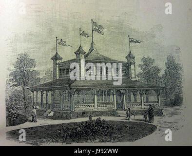 Schwedisches Holzhaus 1896 4 - Stock Photo