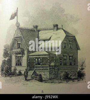 Schwedisches Holzhaus 1896 3 - Stock Photo