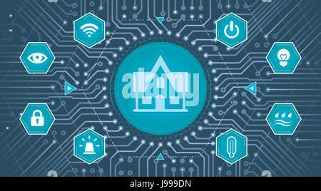 Smart House Concept - Stock Photo