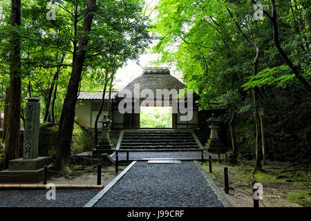 Honen-In, a Buddhist temple located in Kyoto, Japan - Stock Photo