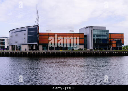 SSE Arena (formerly the Odyssey Arena), Belfast, Northern Ireland - Stock Photo