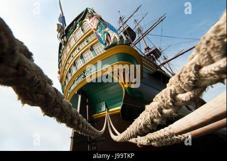sail, amsterdam, boat, ship, dutch, rowing boat, sailing boat, sailboat, - Stock Photo