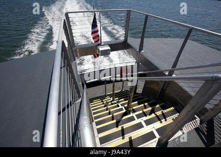 NYC Ferry cruising - Stock Photo