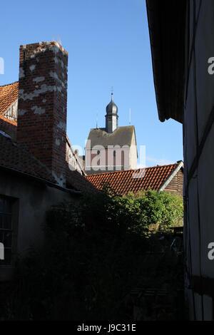 lower saxony, domain, chateau, castle, lower saxony, domain, germany, german - Stock Photo