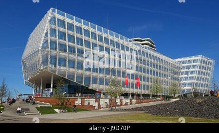 Unilever House, HafenCity, Hamburg, Germany, Europe - Stock Photo