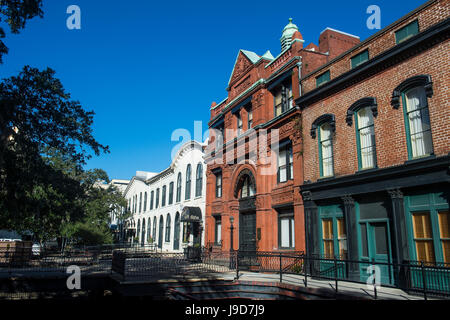 Freemasons Hall, Savannah, Georgia, USA, North America - Stock Photo
