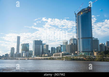 The Central business district of Brisbane, Queensland, Australia, Pacific - Stock Photo