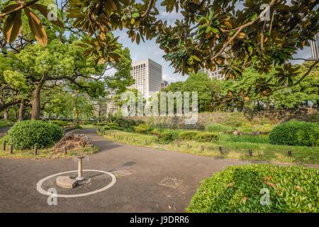 Hibiya Park (Hibiyakōen) in Chiyoda-ku, Tokyo, Japan