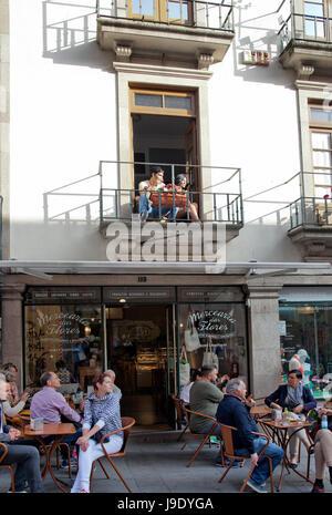 Rua das Flores in Porto - Portugal - Stock Photo
