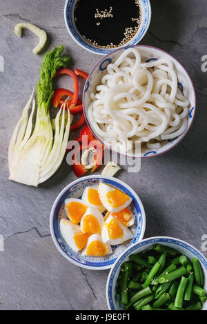 Ingredients for stir fry - Stock Photo