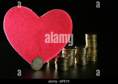 bank, lending institution, tower, dollar, dollars, macro, close-up, macro - Stock Photo