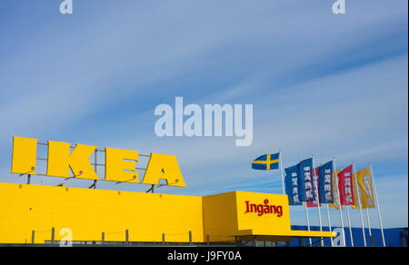 Ikea swedish retail store interior stoughton na stock for Ikea locations plymouth meeting pa
