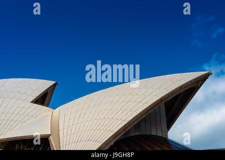 Sydney Opera house, close up detail. Sydney, NSW, Australia - Stock Photo
