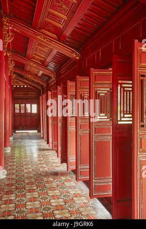 Hung Mieu Temple, Historic Hue Citadel (Imperial City), Hue, North Central Coast, Vietnam - Stock Photo