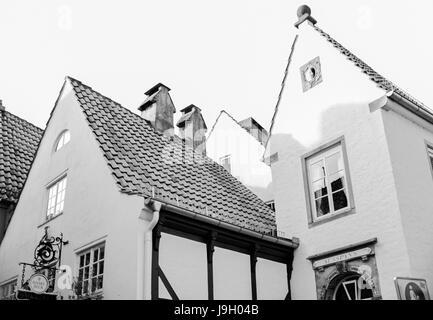 Bremer Schnoorviertel - Stock Photo