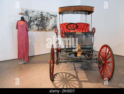 1898 Winner. Automomile museum of Málaga, Andalusia, Spain - Stock Photo