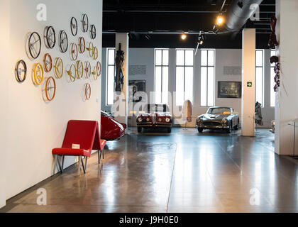 Automobile museum of Málaga, Andalusia, Spain. - Stock Photo