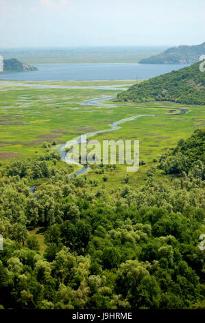 Heaven Paradise Wilderness Meander Lawn Green River Water Stock Photo Royalty Free Image