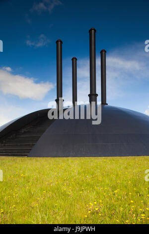 Denmark, Jutland, Herning, HEART Museum, art museum in manufacturing complex, Elia by Ingvar Cronhammar, northern - Stock Photo