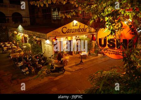 La Carambole Restaurant, Hue, North Central Coast, Vietnam - Stock Photo