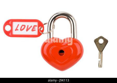 lock, private, present, object, isolated, symbolic, colour, model, design, - Stock Photo