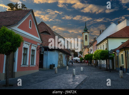 Town of Szentendre in Hungary - Stock Photo