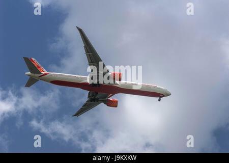 airplane, India, Asia - Stock Photo