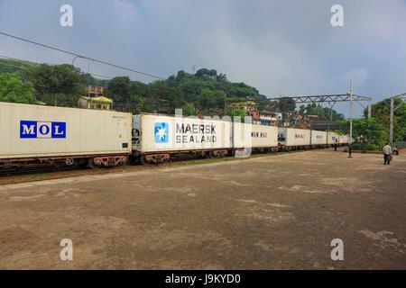 Railways for Imports and Exports, India, nashik, maharashtra, India, Asia - Stock Photo