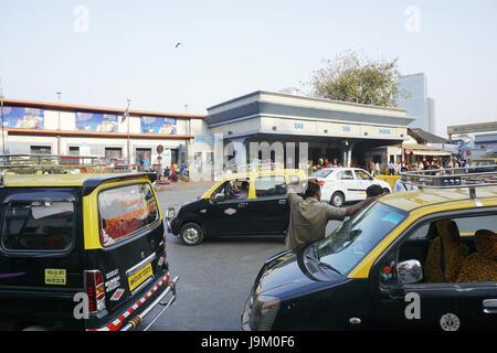 Dadar railway station, mumbai, maharashtra, India, Asia - Stock Photo