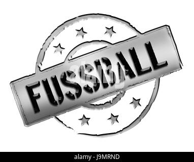stamp - football / soccer - Stock Photo