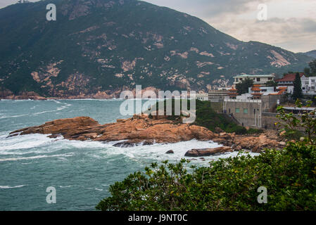 Shek-O, Hong Kong and South China Sea - Stock Photo