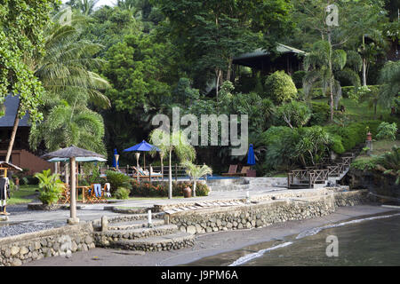 Lembeh Strait Resort,the north Sulawesi,Indonesia, - Stock Photo