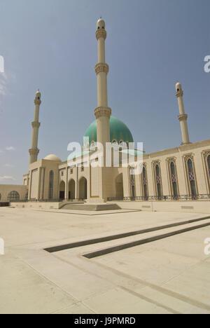 Saparmurat Haji Moschee,Turkmenistan, - Stock Photo