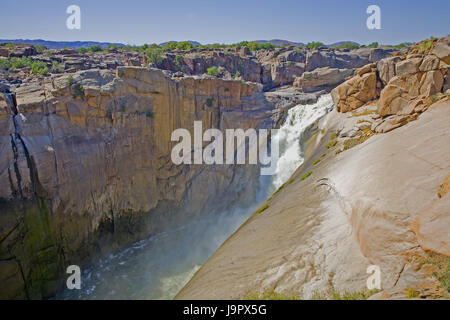 South-West Africa,South Africa,North Cape,Oranje,Augrabies waterfall, - Stock Photo