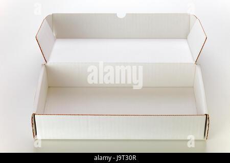 box, boxes, cardboard box, cardboard, carton, macro, close-up, macro admission, - Stock Photo